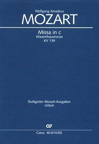 Missa c-Moll KV139 : für Soli (SATB),