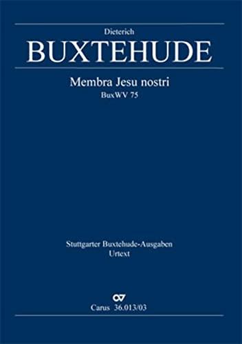 Membra Jesu nostri BuxWV 75 (L), Klavierauszug: Dietrich Buxtehude