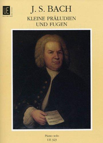 "Short Preludes and Fugues"" Edition for Piano: Johann Sebastian Bach"