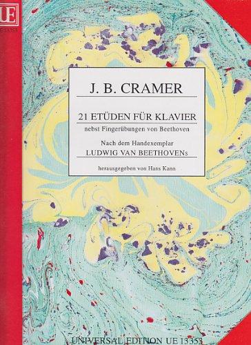 21 Etüden : für Klavier: Johann Baptist (Kramer) Cramer