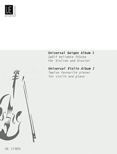 Universal Geigenalbum 1 : fürVioline und Klavier