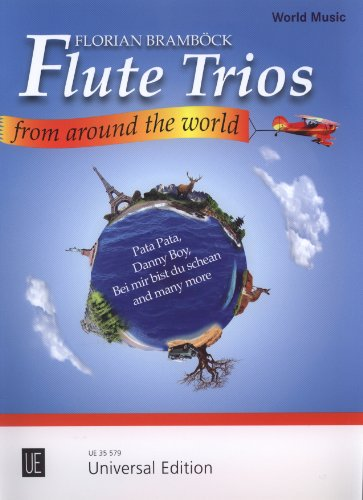 Flute Trios from around the worldscore and parts