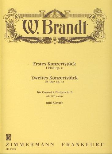 Konzertstück f-Moll op.11, Zweites Konzertstück Es-Dur op.12: für Trompete in B (...