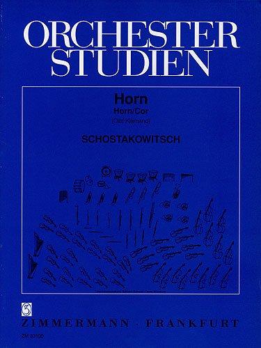 Orchesterstudien Horn : Sinfonienund Konzerte: Dimitri Schostakowitsch