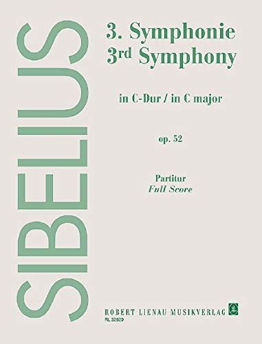 Symphonie Nr. 3 C-Dur: op. 52. Orchester. Partitur. (Paperback): Jean Sibelius