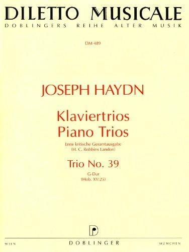 Klaviertrio G-Dur Nr.39 Hob.XV:25mit dem Rondo ungarese: Franz Joseph Haydn