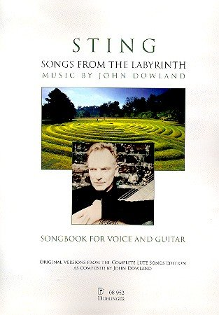 Songs from the Labyrinth :for voice and guitar: John Dowland