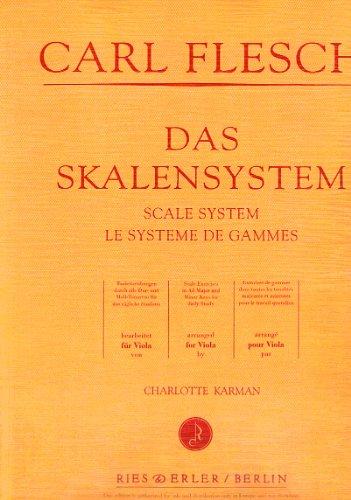Das Skalensystem : Viola: Carl Flesch