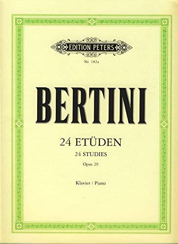 24 Etüden op.29 : für Klavier: Henri Jerome Bertini