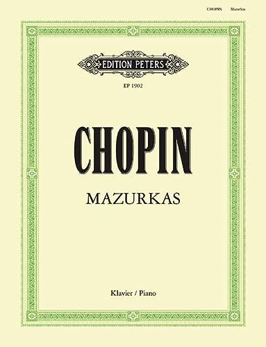 CHOPIN - Mazurkas Completas para Piano (Scholtz): CHOPIN