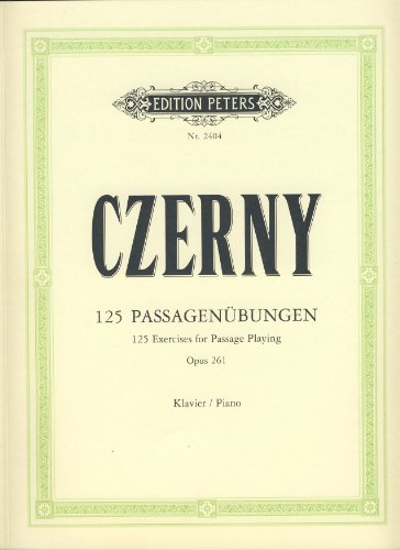 125 Passagenübungen op.261 :für Klavier: Carl Czerny