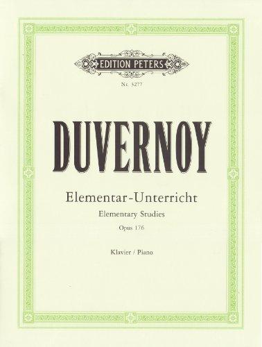 Elementarunterricht für Anfänger op. 176: in 25: Jean Baptiste Duvernoy,