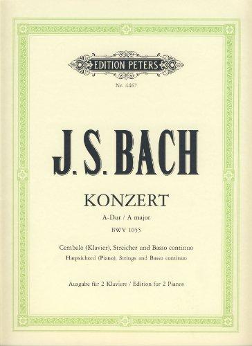 Konzert A-Dur BWV1055 fürCembalo, Streicher und Bc :: Johann Sebastian Bach