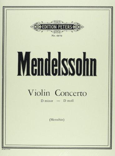 Konzert d-moll für Violine und Streicher: Felix Mendelssohn Bartholdy