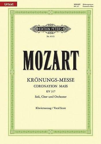 Missa C-Dur KV 317 Krönungs-Messe / URTEXT: Wolfgang Amadeus Mozart