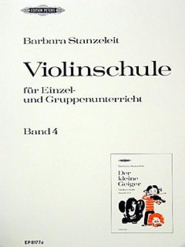 Der kleine Geiger Band 4 : Violinschulefür die Früherziehung im Einzel-: Barbara ...