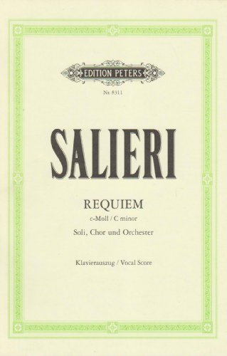 Requiem c-Moll : für Soli,Chor und Orchester: Antonio Salieri