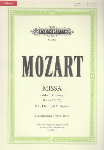 Missa c-Moll KV 427 (417a): Nach dem: Wolfgang Amadeus Mozart