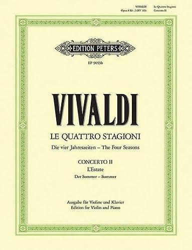 Die Jahreszeiten: Konzert für Violine, Streicher und: Antonio Vivaldi
