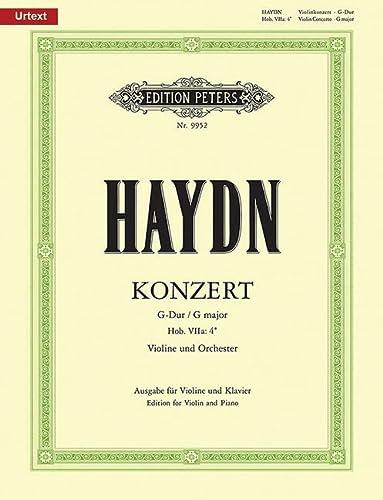 Konzert G-Dur Hob.VII:a4 fürVioline und Orchester : für: Franz Joseph Haydn