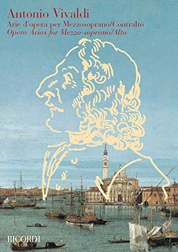 Arie d'opera : per mezzosoprano(contralto) e piano: Antonio Vivaldi