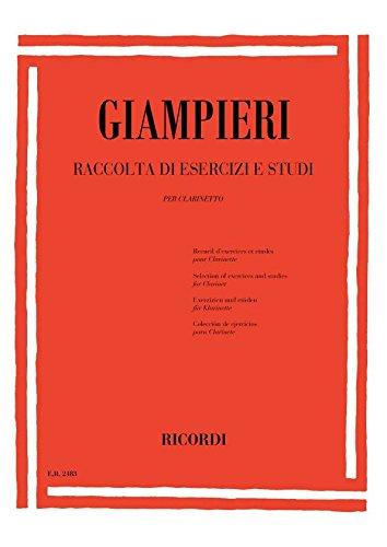 Raccolta di esercizi e studi :per clarinetto: Alamiro Giampieri