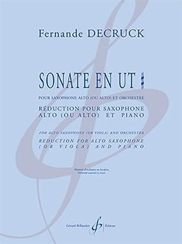 9790043002994: DECRUCK - Sonate en Do Sost. para Saxofon y Piano (Organo)
