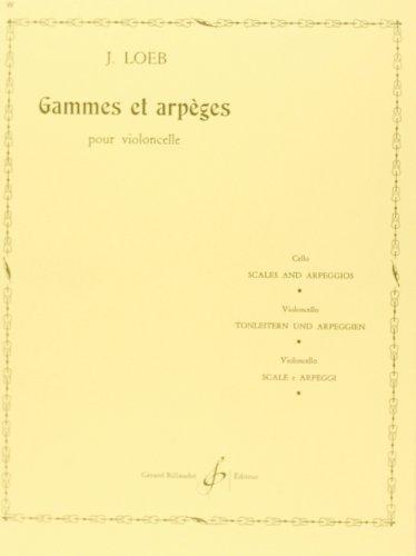 Gammes et Arpeges: J Loeb