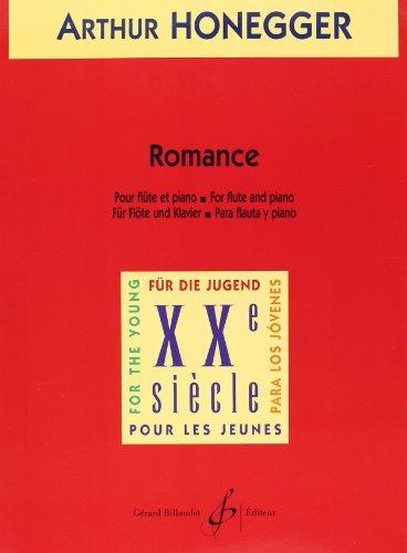 Romance (FLUTE ET PIANO): Honegger Arthur