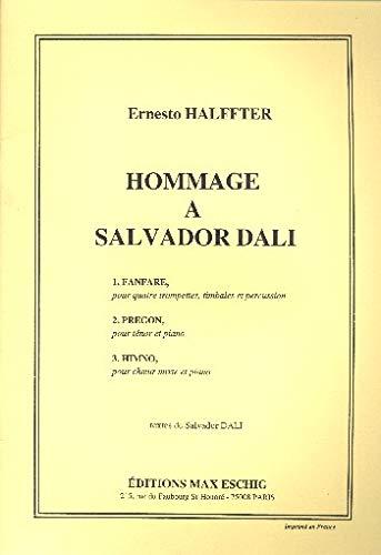 Hommage a Salvador Dali :pour instruments variable: Ernesto Halffter