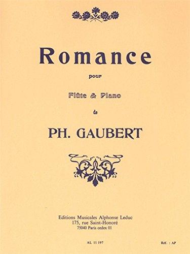 Romance : pour flûte et piano: Philippe Gaubert