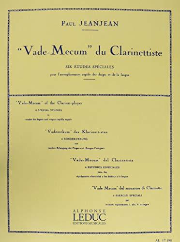 Jeanjean Vade Mecum Du Clarinettiste 6 Studies Wind & Woodwinds Musical Instruments & Gear