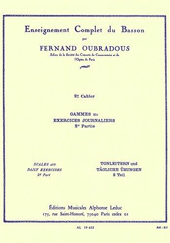 Gammes Et Exercices 2: Oubradous F (Composer)