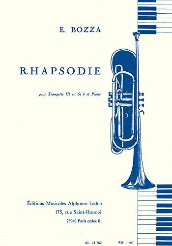 Rhapsodie : pour trompette et piano: Eug�ne Bozza