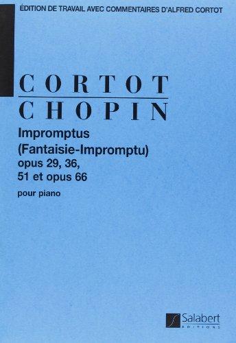 Impromptus op.29, 36, 51, 66 :pour piano: Fr�d�ric Chopin