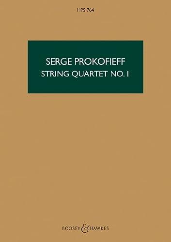 Streichquartett Nr.1 op.50Studienpartitur: Serge Prokofieff