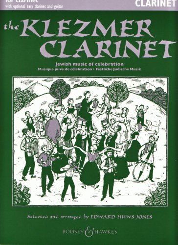 The Klezmer Clarinet : JewishMusic of Celebration for