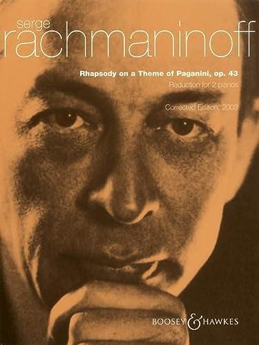 Rhapsodie über ein Thema von Paganini: Sergej W. Rachmaninow