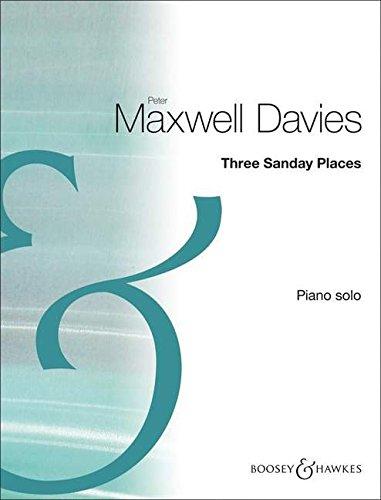 9790060119996: Three Sanday Places- piano