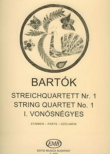 Streichquartett Nr.1 op.7Stimmen: Béla Bartók