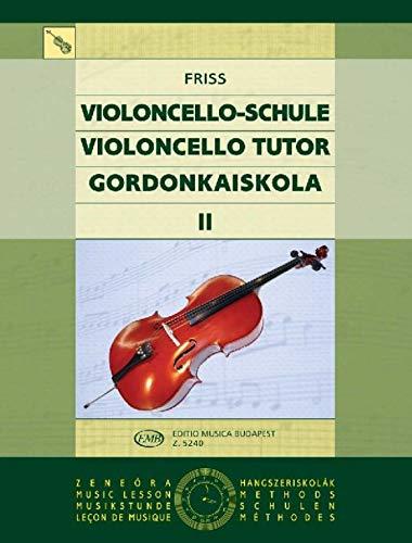 Schule für Violoncello Band 2: Antal Friss