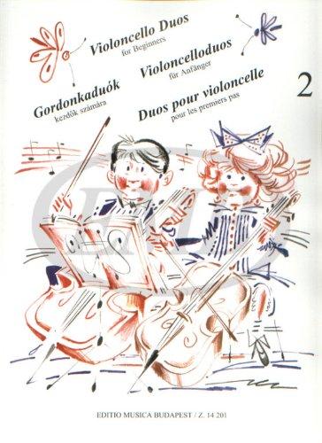 Violoncelloduos für Anfänger Band 2 :für 2 Violoncelli