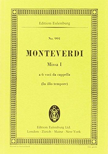 Messe Nr.1, 'In illo tempore' (FK), Partitur: Claudio Monteverdi