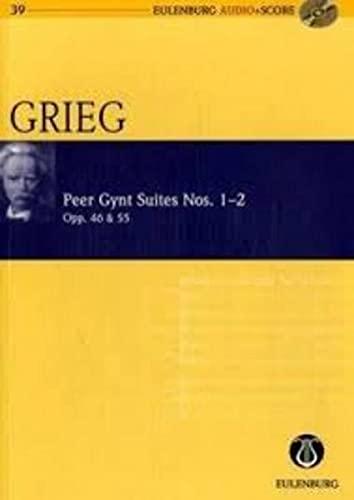 Peer Gynt Suiten Nr.1 op.46 undNr.2 op.55 (+CD) : für Orchester: Edvard Grieg