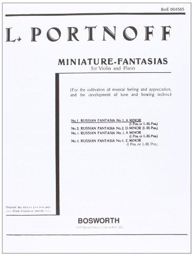 Leo Portnoff: Russian Fantasia No 1 in A
