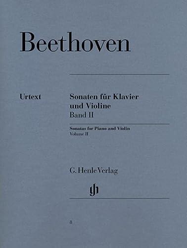 Sonaten für Klavier und Violine, Band II: Ludwig van Beethoven