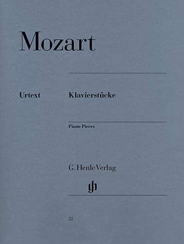 Klavierstücke (Paperback): Wolfgang Amadeus Mozart