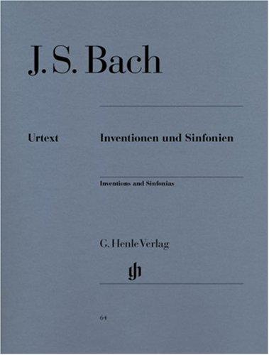 Inventionen und Sinfonien BWV 772-801