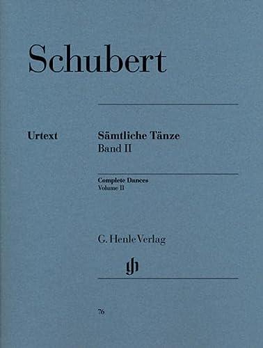 Sämtliche Tänze 2: Franz Schubert