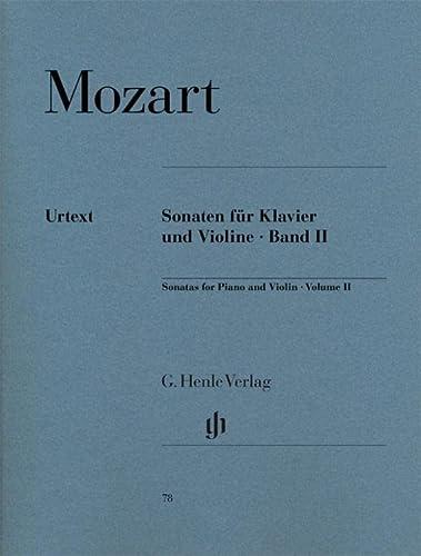 Sonaten für Klavier und Violine, Band II: Wolfgang Amadeus Mozart